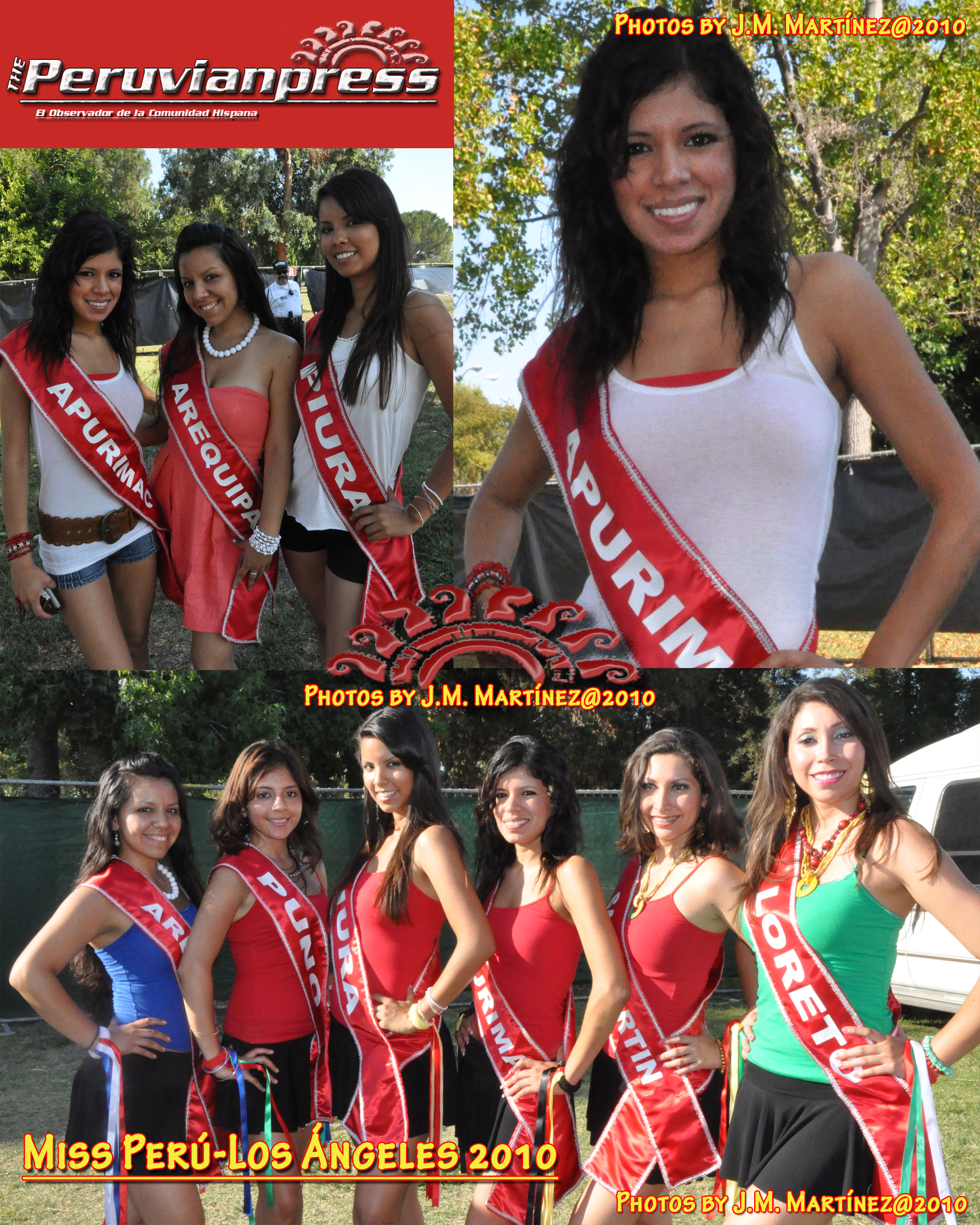 Miss Peru Los Angeles
